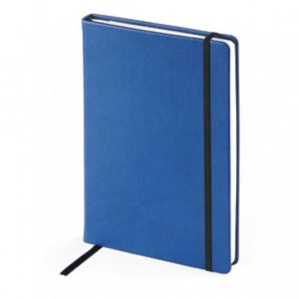 Синий недатированный ежедневник Megapolis Velvet А5