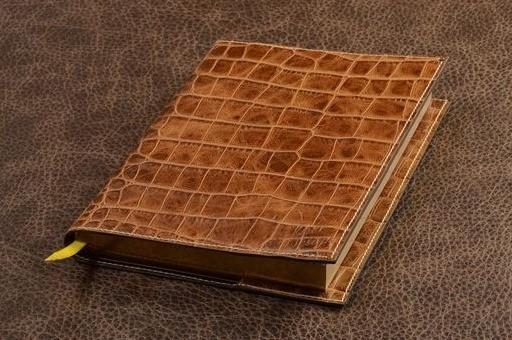 Ежедневник Elole Design (бежевый, крокодил; нат. кожа)