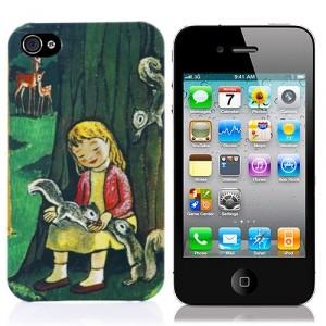 Чехол для iPhone 4/4S Белки