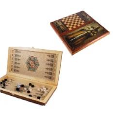 Игра настольная из дерева Рыцарь, размер 60 х 30 см