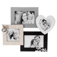 Рамка для 4 фото Наша любовь