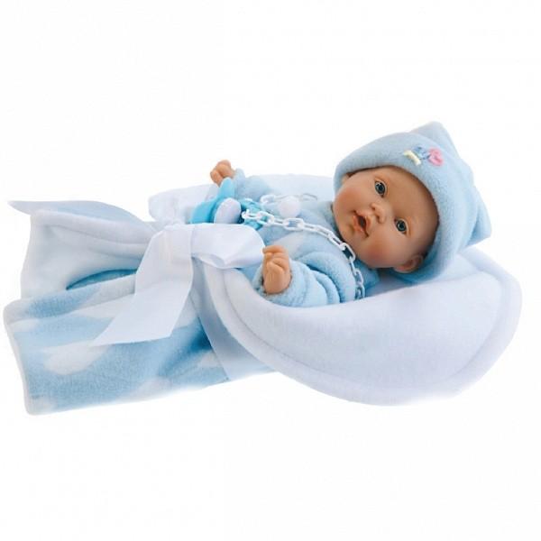 Кукла-младенец Кико (в голубом)