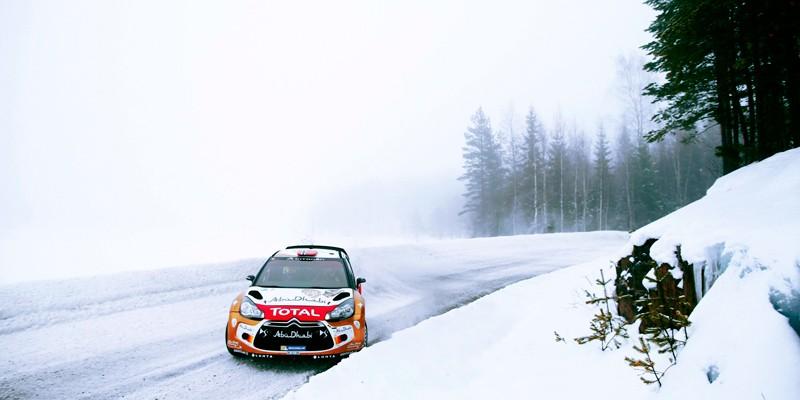 Мастер-класс на раллийном авто по ледяному треку с чемпионом
