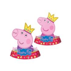 Фигурные колпачки «Пеппа-принцесса»