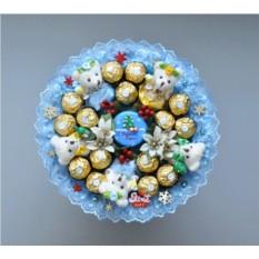 Букет из конфет Морозко