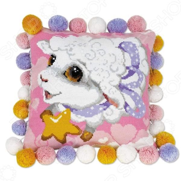 Набор для вышивания Подушка Овечка