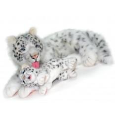 Мягкая игрушка Снежный барс-мама от Hansa (70 см)