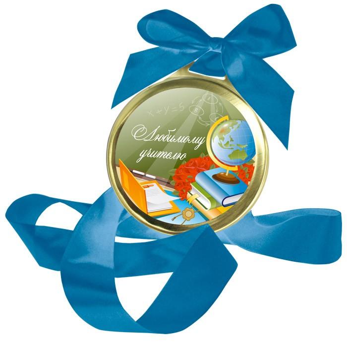 Шоколадная медаль Любимому учителю