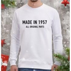 Мужской свитшот Made in 1957 all originals parts
