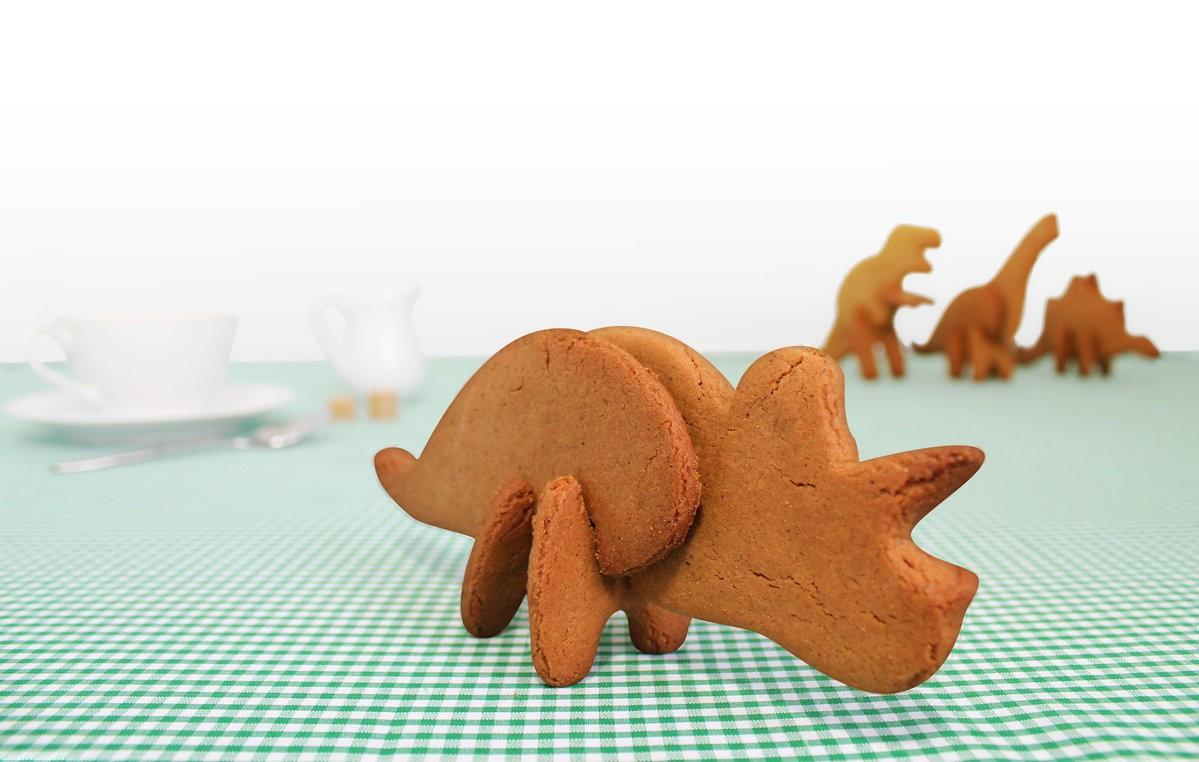Формы для печенья 3D Dinosaur Трицератопс