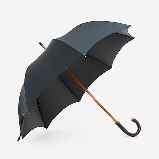 Темно-зеленый зонт Mario Talarico в коричневую крапинку
