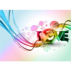 Обложка для автодокументов Love