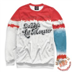 Свитшот Daddy's Lil Monster
