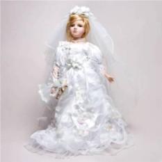 фарфоровая Кукла-невеста Пэгги