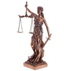 Декоративная фигурка Богиня правосудия высотой 33см
