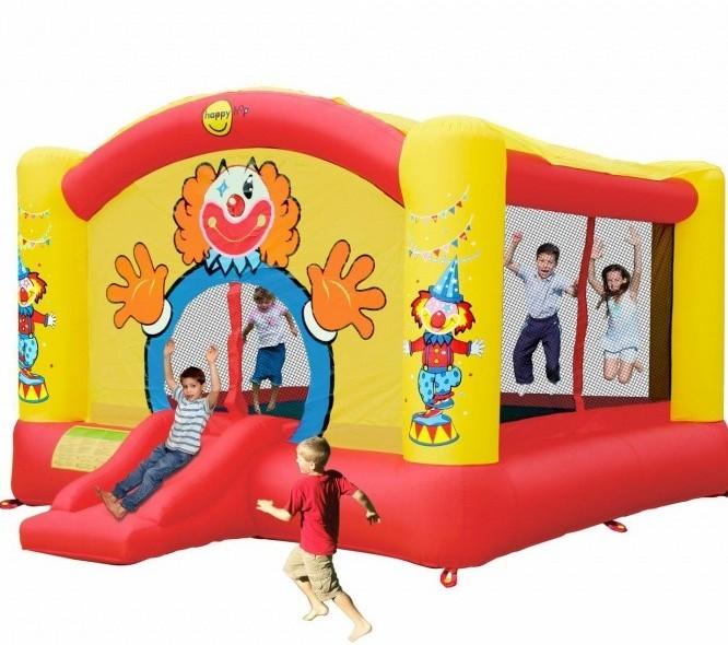 Детский надувной батут Клоун HAPPY  HOP