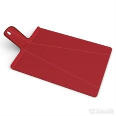 Большая красная разделочная доска Chop2pot plus