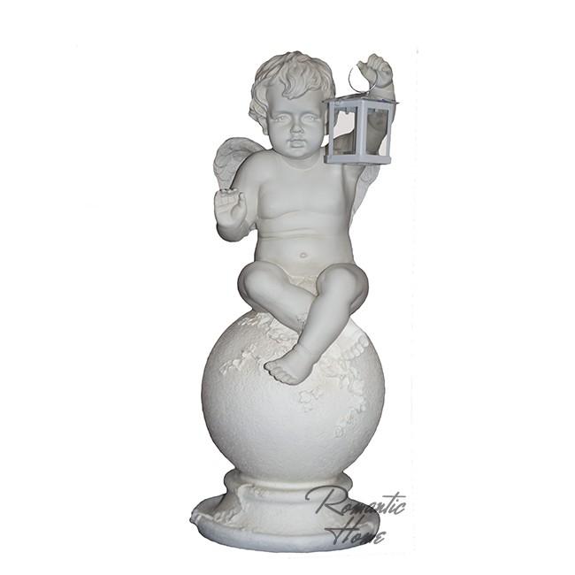 Интерьерная фигура  Ангел на шаре