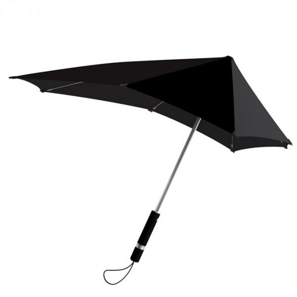 Черный противоштормовой зонт Senz Original