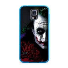 Силиконовый чехол для Samsung Galaxy S5 Джокер