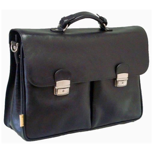 Мужской портфель с ремнём