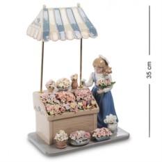Композиция Девушка с цветами (Pavone)