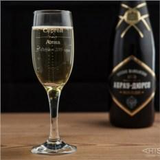 Бокал для шампанского Счастливая пара