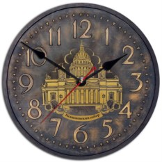 Сувенирные часы Санкт-Петербург. Исаакиевский собор