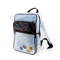 Джинсовый рюкзак Western Badge – Light Blue