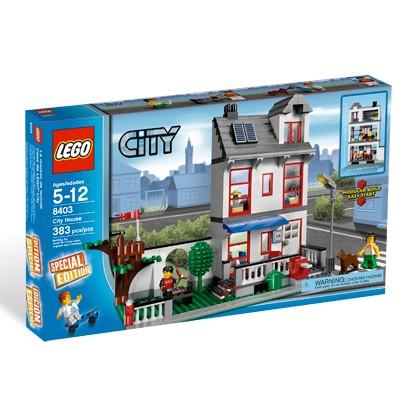 Lego City «Городской дом»
