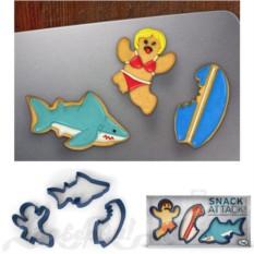 Форма для печенья Акула Snack attack