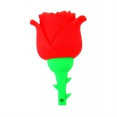 Флешка Роза красная на 16 гб