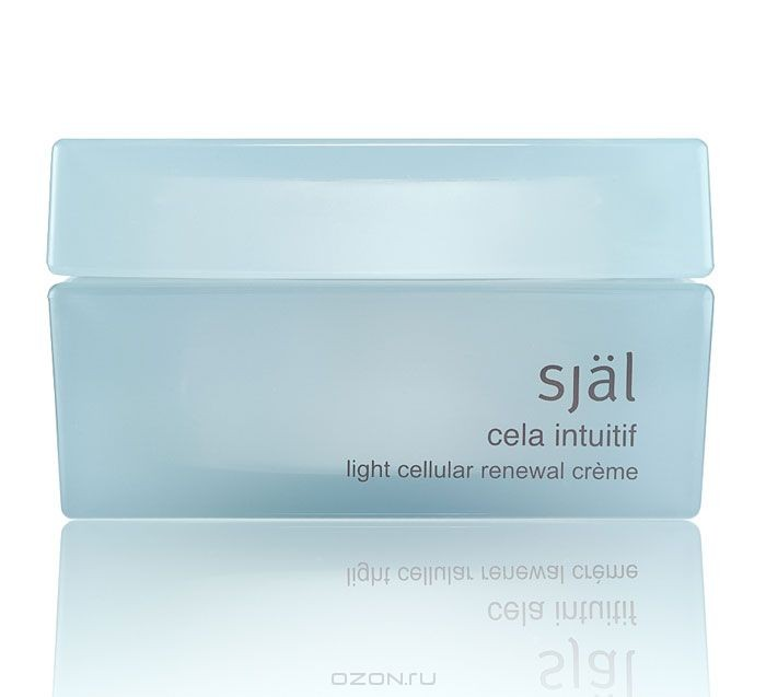 Крем для лица Sjal Cela Intuitif, клеточный, обновляющий