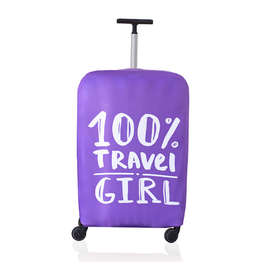 Чехол для чемодана Travel Girl