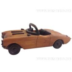 Декоративная фигурка Бежевый автомобиль