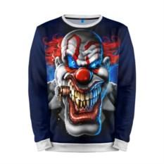 Мужской 3D-свитшот Клоун