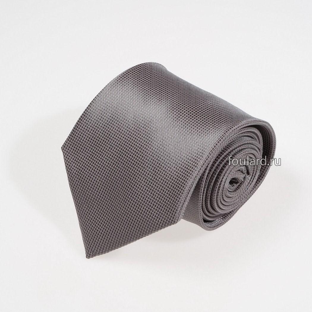 Мужской галстук стального цвета Idea Seta