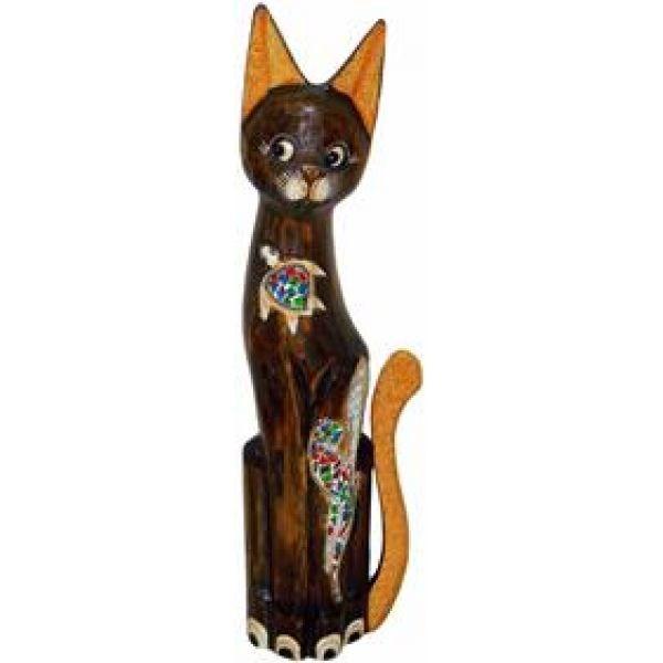 Красивая статуэтка Кот (100 см)