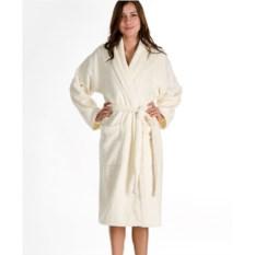 Белый махровый халат Emanuel Ungaro Perle