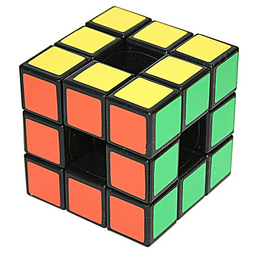 Головоломка пластмассовая Кубик 3*3 без центра