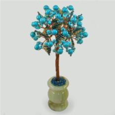 Дерево из бирюзы Бирюзовый звездопад