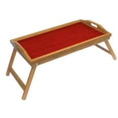 Красный сервировочный столик