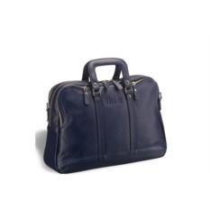 Деловая синяя сумка в ретро-стиле Pasadena