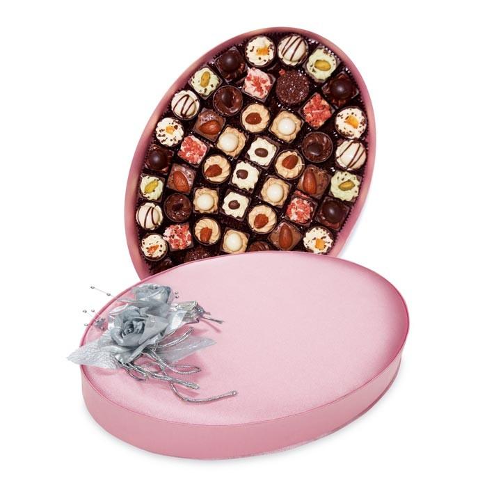 Подарочный набор конфет ручной работы Овал