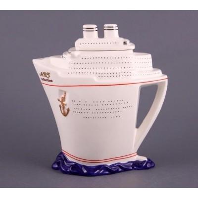 Заварочный чайник «Корабль белый»
