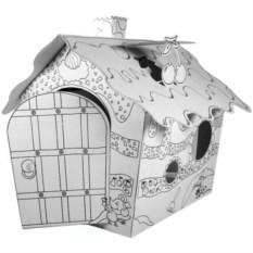 Домик из картона Фруктовый домик
