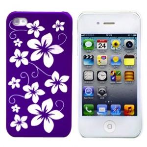 Чехол для iPhone 4/4S Purple Flowers из серии Tune