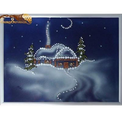Картина Swarovski Зимняя сказка