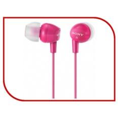 Наушники Sony MDR-EX15LP Pink