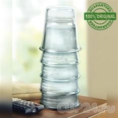 Графин для воды и напитков «Башенка из стаканов» H2EAU